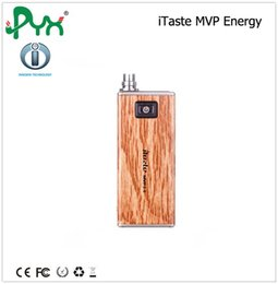 Wholesale best Gift Electronic Cigarettes Authetic Innokin iTaste MVP Energy iTaste MVP Starter Kit With iClear Atomizer MVP W MVP