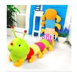 Wholesale Gaga deals price baby toys Colorful caterpillars millennium bug doll plush toys large caterpillar hold pillow doll