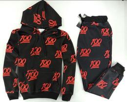 2015 New 100 Emoji Hooded Sweatshirt Women MAN Brand Design Clothes Sweat Pants jOGGERS+Hoodies Sport Clothing Plus Size S-XL