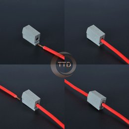 Wholesale 20Pcs WAGO PCT Single pin cable wire wiring connecting connector for lamp