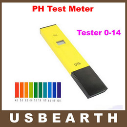 Wholesale Digital LCD Pocket Pen PH Test Meter Measure Tester Aquarium Pool Water Tester