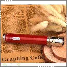 Torsion ii à vendre-Colorful Twist 2200mah GS II EGO Batterie tension variable batterie 3.3v-4.8v Batteries Twist de fond pour l'ego 510 atomiseur livraison gratuite