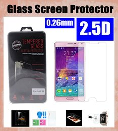 for apple iwatch iphone 6 tempered glass screen protector with retail package 0.26mm for samsung s5 mini s4 s3 s6 edge SSC022