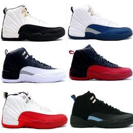online shopping Cheap air High Quality jordan Retro men Basketball Shoes flint TAXI Flu gamma French Blue Game gamma blue Playoff sport sneaker Boots