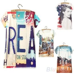 Wholesale 16 Types Short Sleeve Graphic Printed T Shirt Tee Tees Tops Women Apparel Hot Selling Chinese Printed CS3