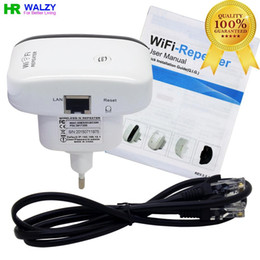 Wholesale Hot Sales Wireless Wifi Repeater N B G Network Router Range Expander M dBi Antennas Signal Boosters Drop Shipping
