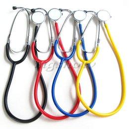 Wholesale Dual Basic Stethoscope Head Doctors Nurses Clinical Medical First Aid EMT Health