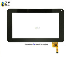 """12 pins Tablet Touch 7"""" Black Tablet pc Touch Screen Digitizer FPC-TP070011(DR1334)-01 12 pins with IC"""