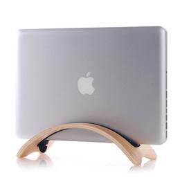 samdi Apple macbook laptop stand holder wooden storage rack laptop stand