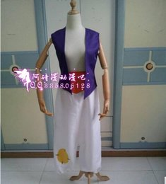 Wholesale Movie Cosplay Costume prince Professional Aladdin Jasmine costume for Party Aladdin Theme Princess For men Kids