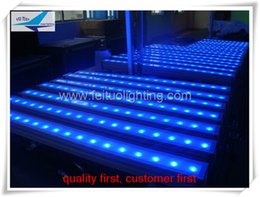 20 pieces lot Led Wall disco lighting dj equipment 18x3w rgb 3in1 led wall washer, outdoor led bar light dmx