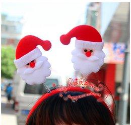 Christmas Hair Bands Santa Snowman Reindeer bear head bands christmas party accessories cute fun Xmas supplies