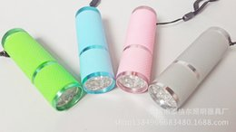 Wholesale LED Lamp Nail Dryer AAA batteries Nail Art Equipment Nail Tools Nail Treatment Multifunction Paper Money Jewelry Appraisal