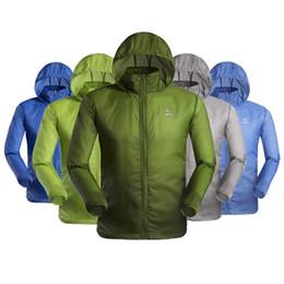 Men Outdoor séchage rapide anti-UV étanche Protecteur Vent pluie Ultraléger ultra-mince veste de peau Cycling Jersey à partir de veste de cyclisme mince imperméable fournisseurs
