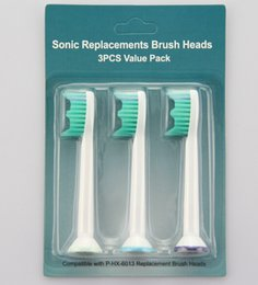 Wholesale Sonicare Toothbrush Head packaging electric ultrasonic Replacement Heads For Phili Sonicare ProResults HX6013 HX6014 pack Best price