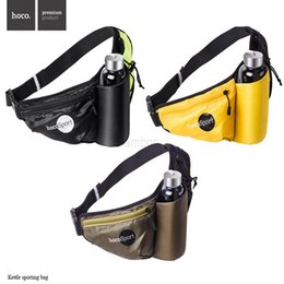 Wholesale HOCO Brand Outdoor Sports Running Cycling Kettle Waist Packs Bum Bag for Men Women malas de mulher