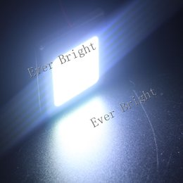 Wholesale 8pcs New Dome Bulb LED Car COB Chip Festoon T10 W5W V W White Aluminum Shell Panel Reading Interior Light