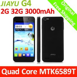 Wholesale JY JIAYU G4 Advanced MTK6589T Quad Core GHz mAh G GB RAM G Smart Mobile Phone Android quot Black White