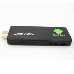Wholesale MK809III TV Stick Android Support Adobe Flash Built in G Memory Matte Surface Cheap Price WiFi Dongle for TV