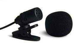 Portable Microphone 2.5 mm STEREO JACK TIE CLIP LAPEL LAVALIER MICROPHONE from memorygeek free shipping