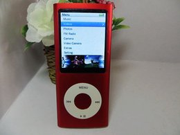 Wholesale 8GB th mp3 mp4 player gb with camera G senser scrolling button FM ebook voice recorder above
