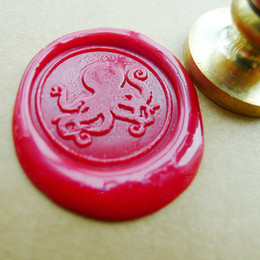 Octopus Wax Seal Stamp Sealing Wax Seal sea wedding logo brass and invitation wedding stamp
