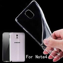 Cas transparents pour iphone 4s en Ligne-Transparente en TPU gel Cristal Clair 0,3 mm Ultra-mince souples en silicone à l'Arrière de l'étui Cover pour iPhone 4 4S 5 5S 5C iphone 6, Plus le galaxy S5 Note 4 Nouvelles