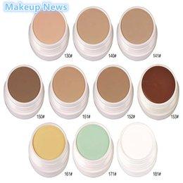Wholesale pc Makeup News Professional Brand Makeup Cosmetics Contour Palette Makeup Color Foundation Face Concealer Cream Makeup Base