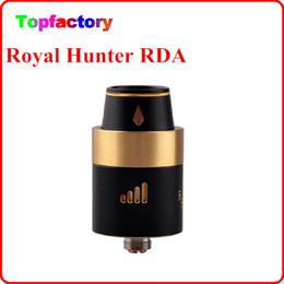 Wholesale Royal Hunter RDA RH RDA atomiseur Mod mm reconstructible Tank Cloupor T6 T8 cigarette électronique mod ACE50 vendeur rapide mod