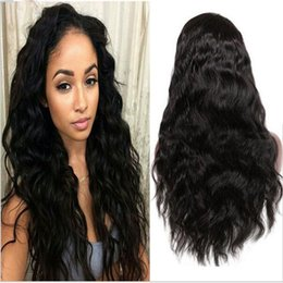 Best Selling Indian Virgin Human Hair Bodywave Glueless Full Lace Wig Natural Color No Tangle, Free Shipping