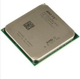 Wholesale AMD FX AM3 GHz MB CPU processor FX serial shipping free scrattered pieces FX