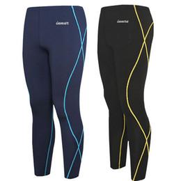 Descuento capas base Compresión térmica capa de base de la bicicleta al por mayor de los pantalones largos-medias nuevas casuales para hombre Deporte gimnasio ciclismo Baskeball pantalones pantalones de entrenamiento