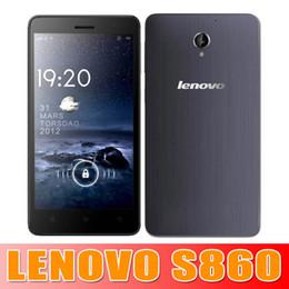 Wholesale Lenovo S860 Quad Core MTK6582 Original Smartphone GHz quot IPS HD x720 Android GB GB mAh Battery waitingyou