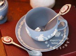 Wholesale The British Royal Albert Lady Hamilton silver spoon coffee spoon teaspoon new