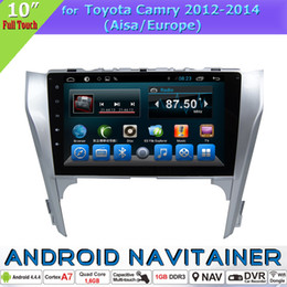 2 Din Car FM Radio Player Android Central Entertainment System for Toyota Camry 2012 2013 2014 Aisa Europe with Touch Screen GPS BT Car Dvd