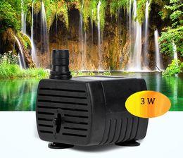 Wholesale 200L H W Air Water Pump Aquarium Water Pump V For Fish Tank Pond Fountain