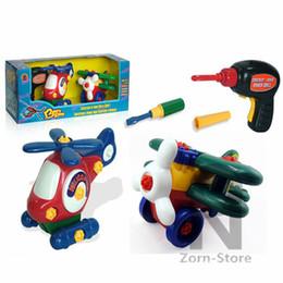 AirplaneHelicopters juguete Zorn tienda-extraíbles 1 juego montan un pequeño avión pequeño avión juguetes hechos a mano Planeador DIY juguetes educativos d eléctrica desde planeadores de bricolaje fabricantes