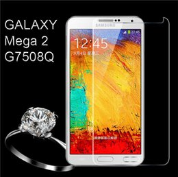Wholesale Explosion Proof Tempered Glass G7508Q Screen Protector Film For Samsung Galaxy Mega G7508Q G5308W J1 A7 A5 Note s6 egde s5 s4 s3