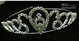 Wholesale diamond crown high quality new teardrop shaped fashion headband claw chain fast delivery dozen fedex