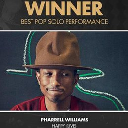 Wholesale-Pharrell Williams Celebrity Style! felt fedora hat for woman Fedora hats men hats black top hat