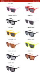 Gafas de diseño fresco en venta-Diseñador de la marca gafas de sol de marco grande para las mujeres y los hombres unisex verano se refresca Estilos vidrios de Sun Shades Gafas europeos Moda