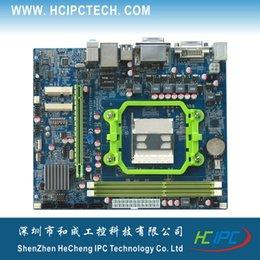 Wholesale 2073 ATX HCM55X11A AMD A8 A6 A4 E2 Multidisplay Motherboard SATA COM USB Giga LAN xPCIE X solt Mini PCIE DDR3 Memory DVI ATX PWR