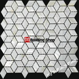 Wholesale Mother of pearl mosaic tiles backsplash shell mosaic bathroom tiles MOP005 sea shell mosaic kitchen wall tiles shell tile