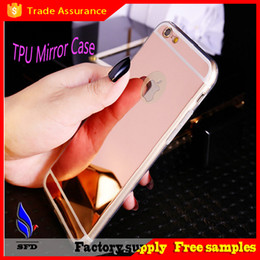 Luxury Electroplate Ultra-thin Acrylic Mirror TPU Case for iPhone 6 6S plus 5 5S S5 S6 edge note 4 5
