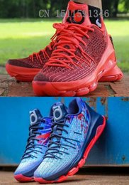 Nike KD 8 V8 Chevy Camaro Bright Crimson White Black