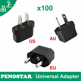 Wholesale Universal Travel Adapter Charger EU US AU Plug Converter Euro Europe USA AUSTRALIA Wall Sockets Power Adapter Outlet