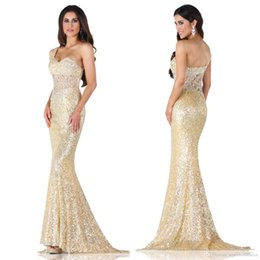 Tarik Ediz 2015 Gold Prom dresses with One Shoulder Pageant Dresses Mermaid Prom Dresses Long Evening Gowns