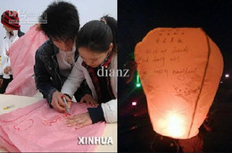 Wholesale Sky Lanterns Wishing Lantern fire balloon Chinese Kongming lantern Wishing Lamp BIRTHDAY WEDDING PARTY Wishing Lamp