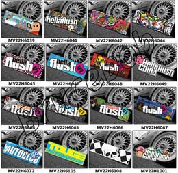 Wholesale Car Styling waterproof PVC Hellaflush Sticker Decal Accessories For Ford Focus Cruze kia Skoda Audi BMW Volkswagen