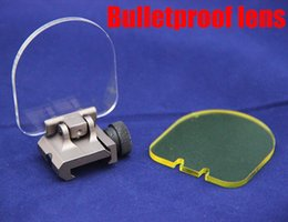 Wholesale Brand New Bulletproof lens protector folding for airsoft scope red green dot sight for ACOG AIMPOINT Dark Earth